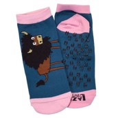 LazyOne Unisex Buffs Adult Slipper Socks