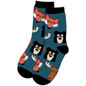 LazyOne Unisex Sleepy Head Adult Crew Socks