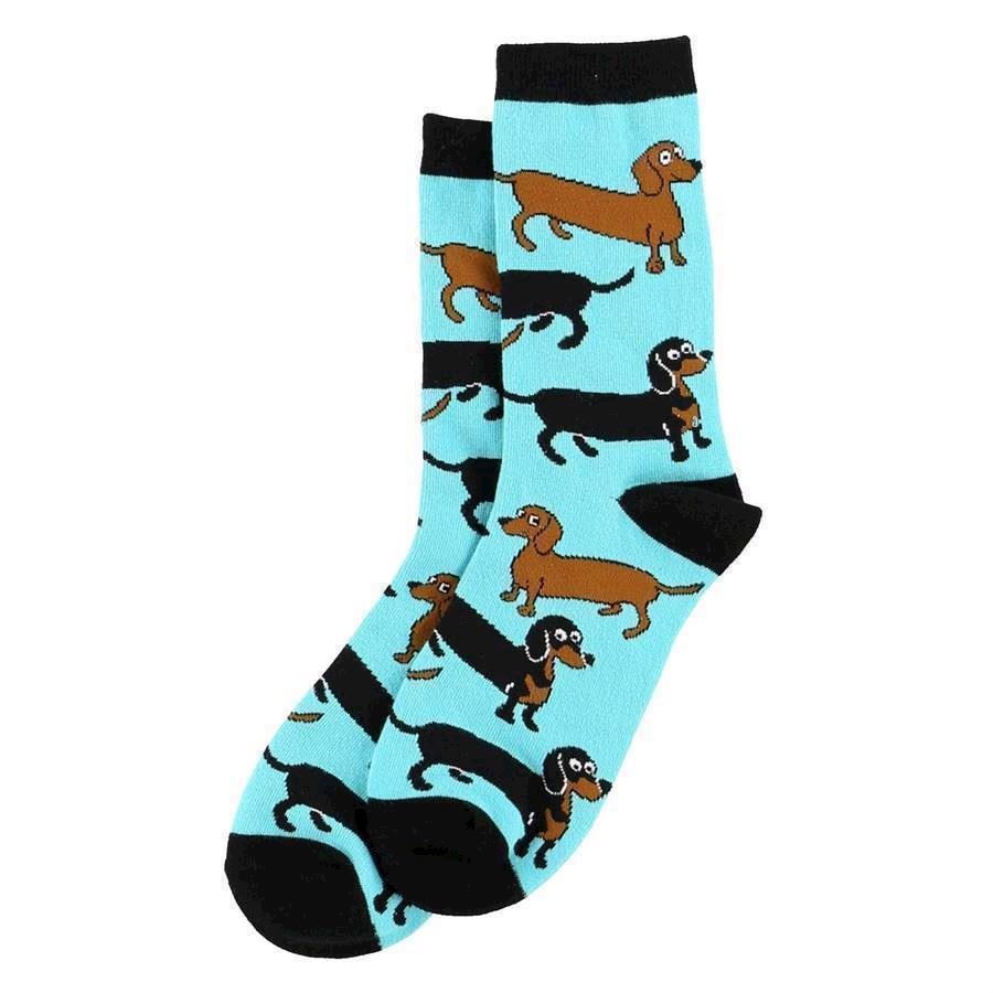 LazyOne Unisex Long to be a Dog Adult Crew Socks