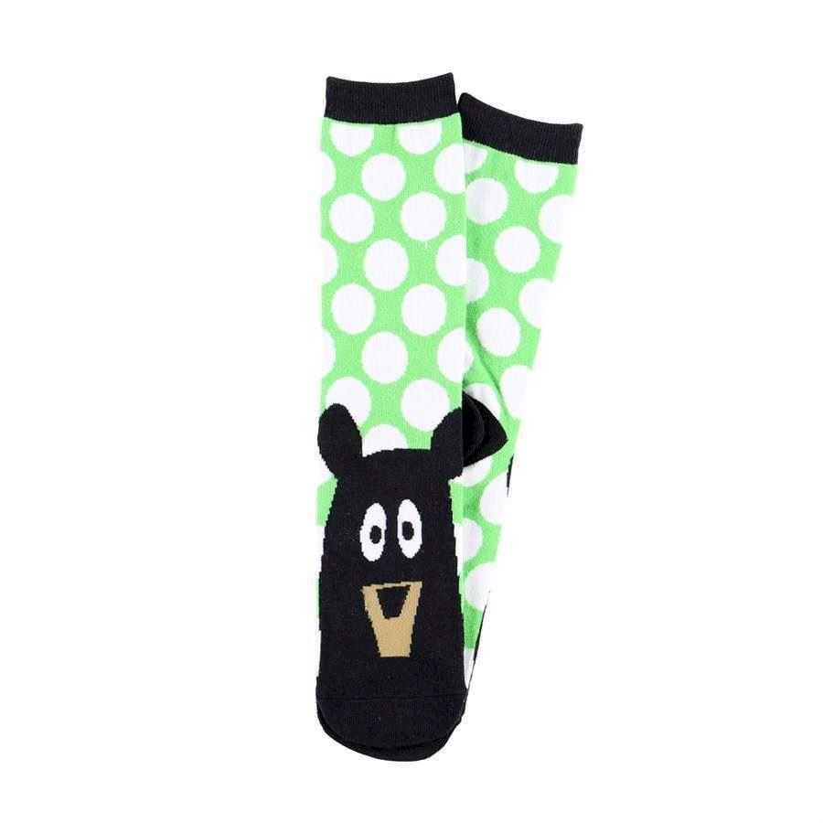 LazyOne Unisex Beary Tired Adult Crew Socks