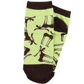 LazyOne Unisex Funky Moose Adult Slipper Socks