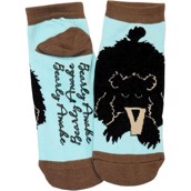 LazyOne Unisex Bearly Awake Adult Slipper Socks