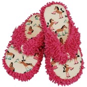 LazyOne Womens Booty Sleep Spa Slippers