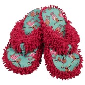 LazyOne Womens Don't Do Morning Moose Spa Slippers