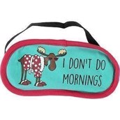 LazyOne Womens Dont Do Mornings Sleep Mask
