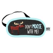 LazyOne Unisex Dont Moose with Me Sleep Mask