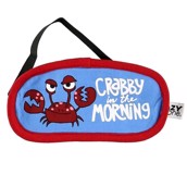 LazyOne Unisex Crabby Sleep Mask