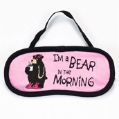 LazyOne Womens Bear in the Morning Sleep Mask