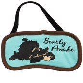 LazyOne Unisex Bearly Awake Sleep Mask