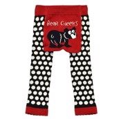 LazyOne Unisex Bear Cheeks Toddler Leggings