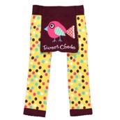 LazyOne Toddler Girls Tweet Cheeks Leggings