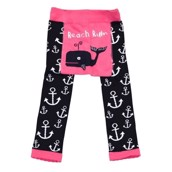 LazyOne Toddler Girls Beach Bum Leggings