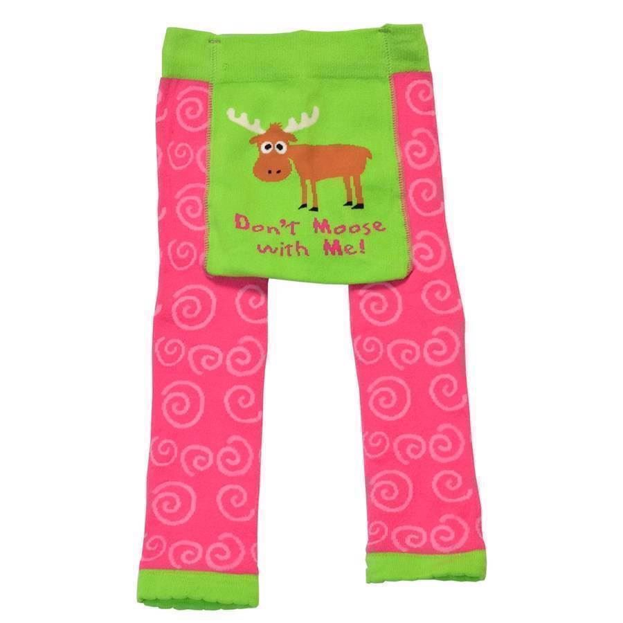 Don´t Moose with Me Child Leggings, Child 6 years