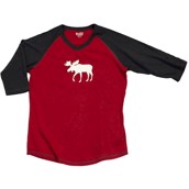 LazyOne Unisex Moose Fair Isle PJ Tall T Shirt Adult
