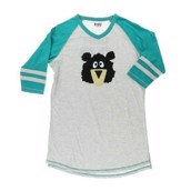 LazyOne Unisex Sporty Bear PJ Tall T Shirt Adult