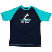 LazyOne Unisex Wide Awake Shark PJ T Shirt