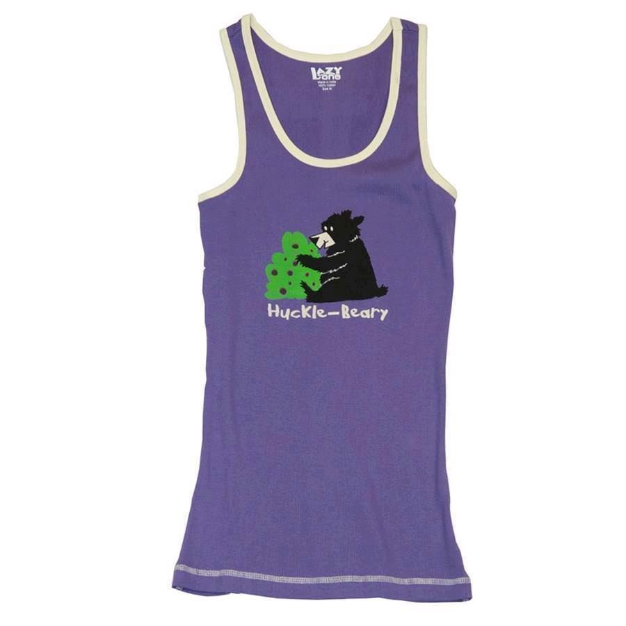 LazyOne Unisex Huckle-Beary PJ Tank Top Adult