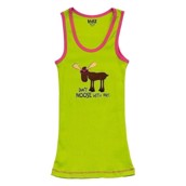 LazyOne Unisex Dont Moose with Me PJ Tank Top Adult