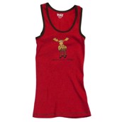 LazyOne Unisex Chocolate Moose PJ Tank Top Adult