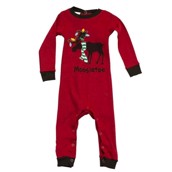 LazyOne Unisex Moosletoe Infant Sleepsuit
