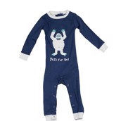 LazyOne Boys Yeti For Bed Infant Sleepsuit