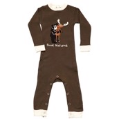 LazyOne Boys Good Natured Infant Sleepsuit