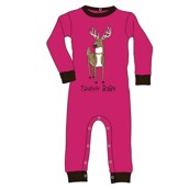 LazyOne Girls Trophy Baby Infant Sleepsuit