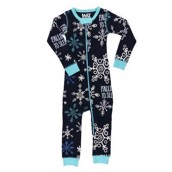 LazyOne Unisex Falling To Sleep Infant Thermal Sleepsuit