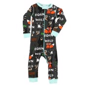 LazyOne Born to be Wild Infant Sleepsuit