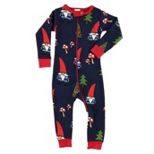 LazyOne Unisex No Place Like Gnome Infant Sleepsuit