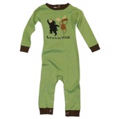 LazyOne Boys Born to be Wild Infant Sleepsuit