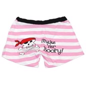 LazyOne Womens Pink Pirate Boxers
