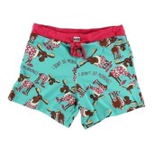LazyOne Womens Don't Do Mornings Moose PJ Boxers