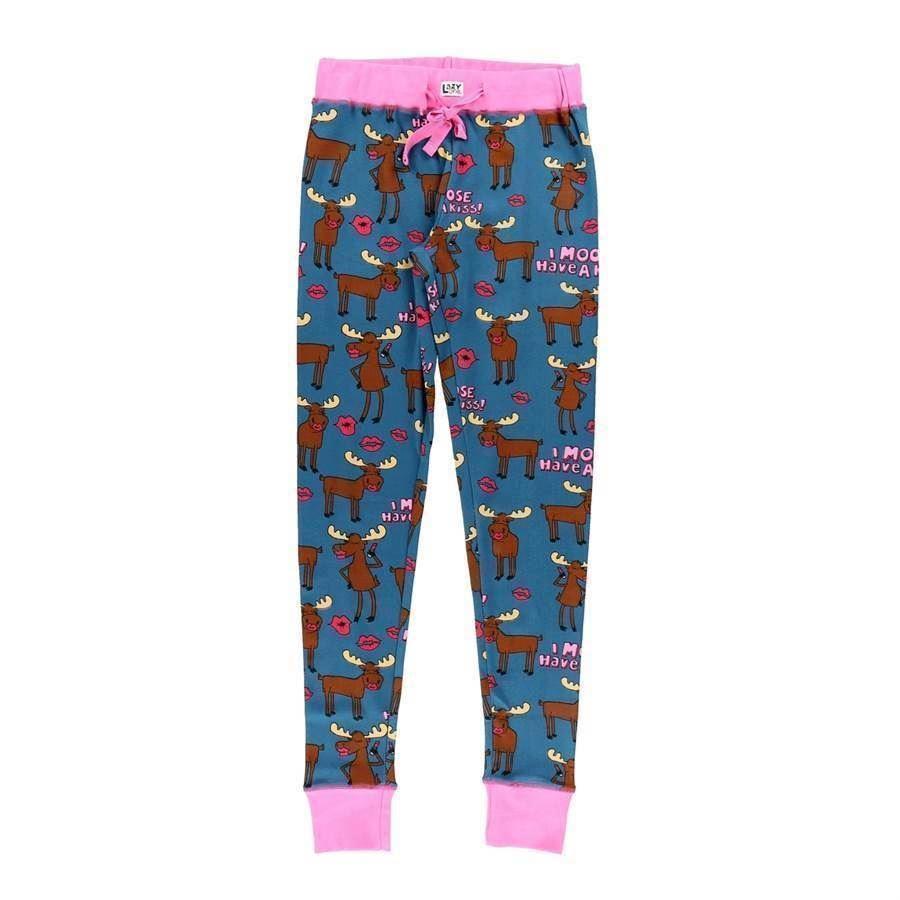 477c5f98 Moose Kiss - sjove pyjamas leggings til unge damer