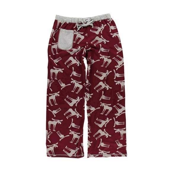 LazyOne Womens Funky Moose Fitted PJ Trousers