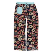 LazyOne Womens Donut Disturb Fitted PJ Trousers