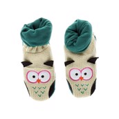 LazyOne Womens Owl Woodland Slippers