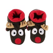 LazyOne Womens Reindeer Woodland Slippers
