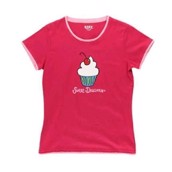 LazyOne Womens Sweet Dreams Fitted PJ T Shirt