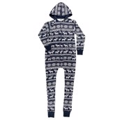 LazyOne Nordic Hooded Women Onesie