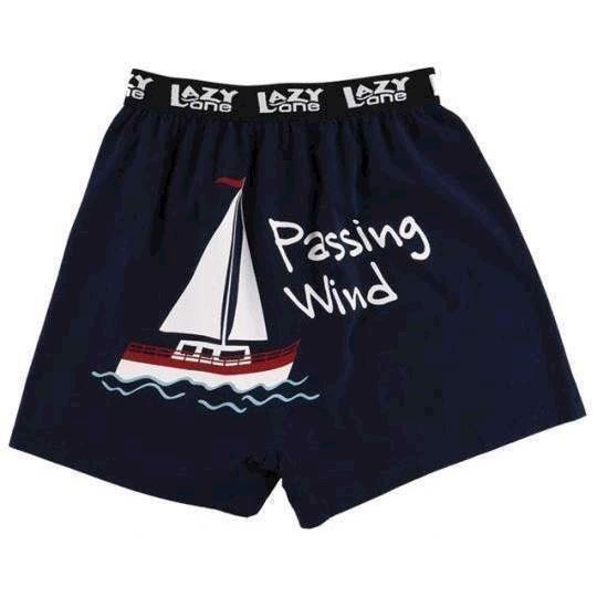 LazyOne Passing Wind Mens Boxer Shorts