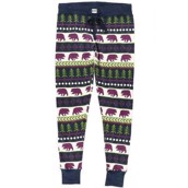 LazyOne Womens Bear Fair Isle PJ Leggings