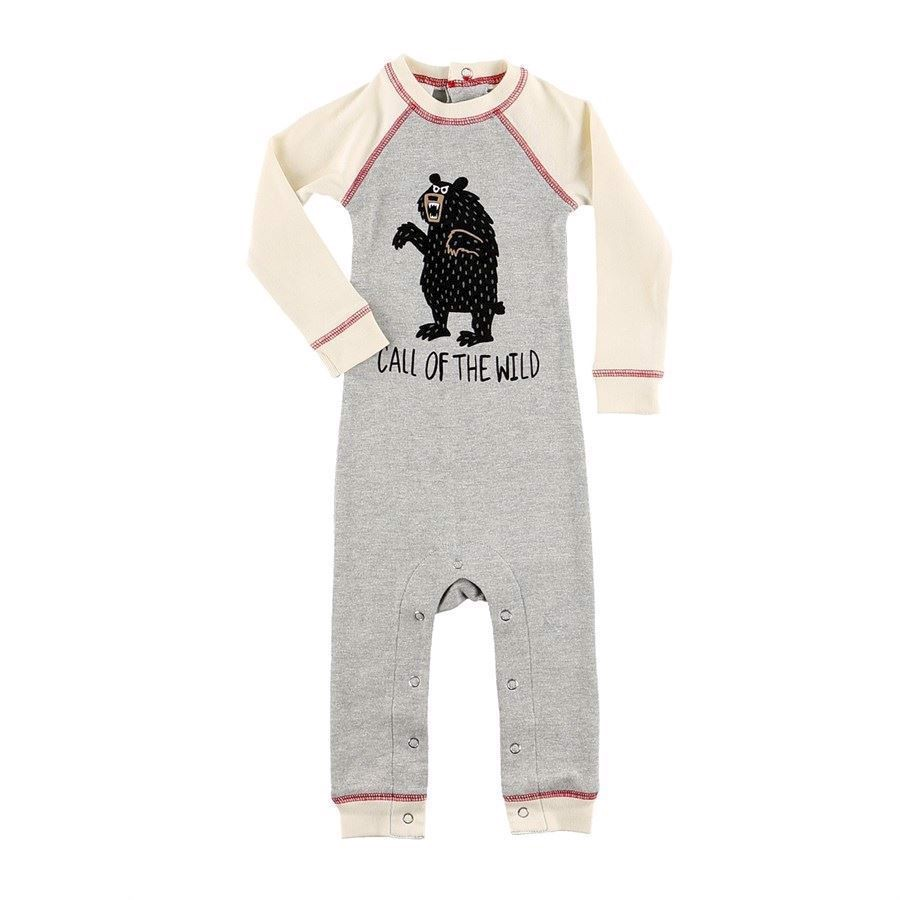 LazyOne Unisex Call of Wild Infant Sleepsuit