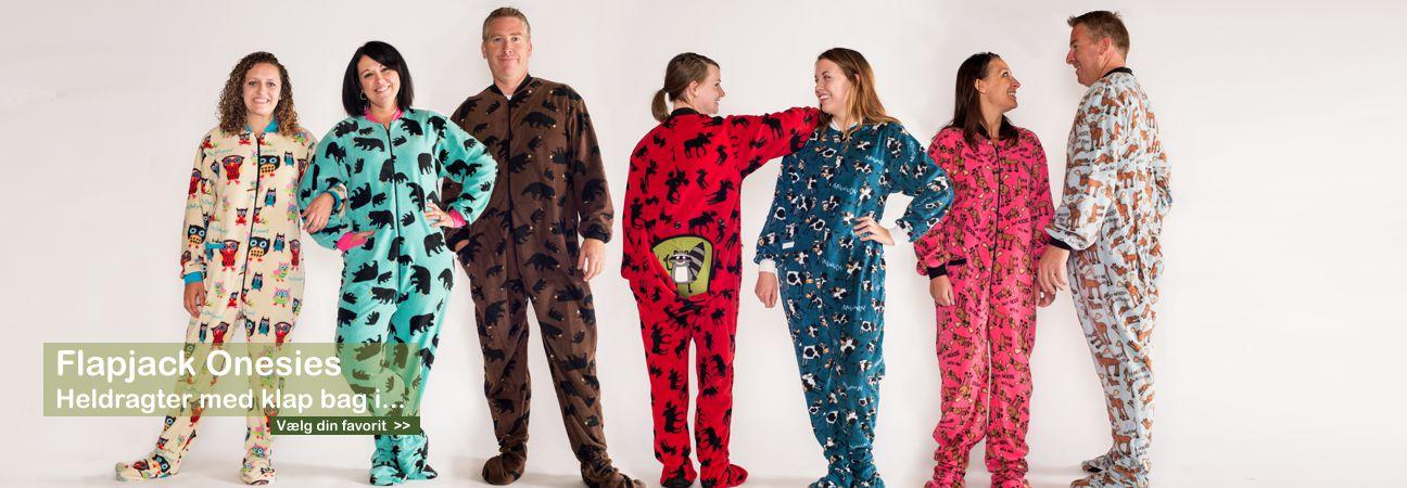 pyjamas med fødder til voksne