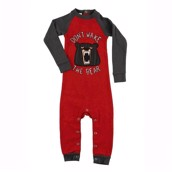 LazyOne Unisex Don't wake the Bear Sleepsuit
