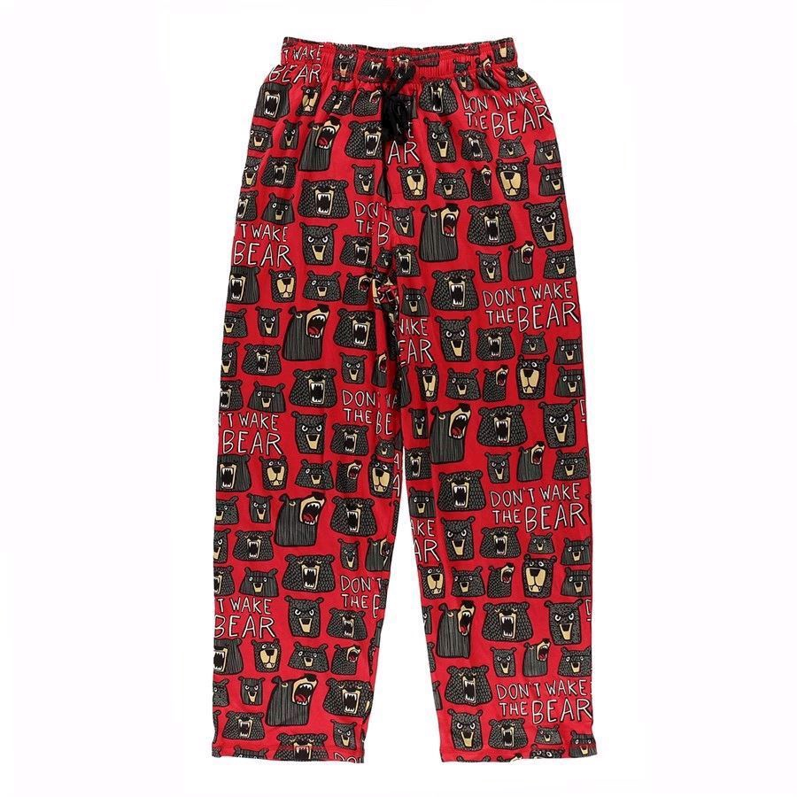 LazyOne Unisex Don\'t wake the Bear PJ Trousers Adult