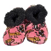 LazyOne Womens Cat Nap Fuzzy Feet Slippers