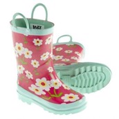 LazyOne Girls Rise and Shine Rain Boots Kids
