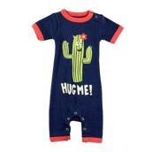 LazyOne Hug Me Infant PJ Rompers