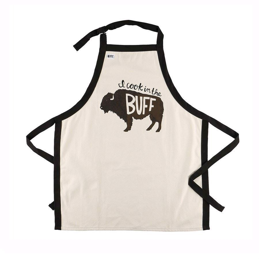 I Cook in the Buff Apron
